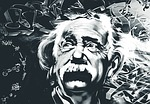 einstein photo